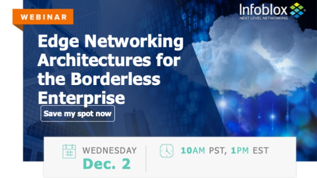 Edge Networking Architectures for the Borderless Enterprise