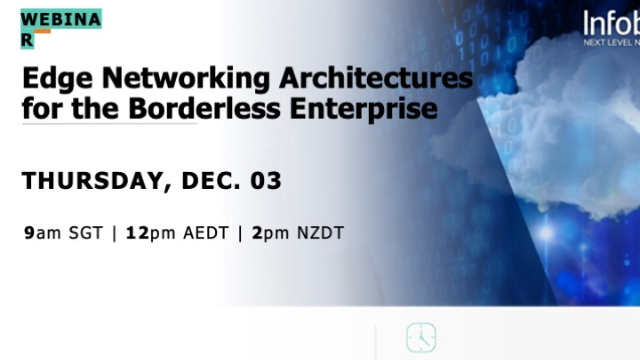 Edge Networking Architectures for the Borderless Enterprise (APAC)