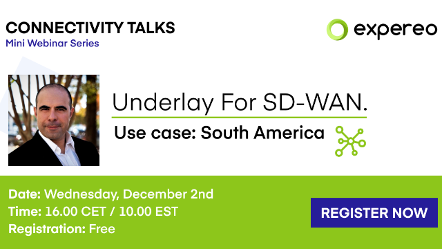 Underlay For SD-WAN | Use Case: South America