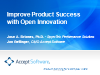 Improve Product Success with Open Innovation