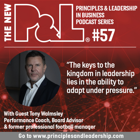 The New P&L discusses high performance and productivity with Tony Walmsley
