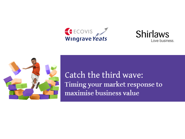 Catch the Third Wave: Timing Your Market Response to Maximise Business Value