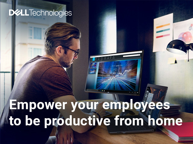 Empower your employees to be productive from home