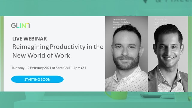 Reimagining Productivity in the New World of Work