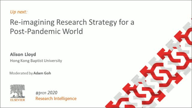 #PRCN2020:  KEYNOTE Re-imagining Research Strategy for a Post-Pandemic World