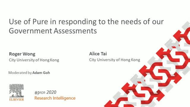#PRCN2020:  Use of Pure in responding to the needs of our Government Assessments