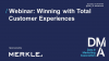 Webinar: Winning With Total Customer Experiences