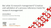 #PRCN2020: But what IS research management?