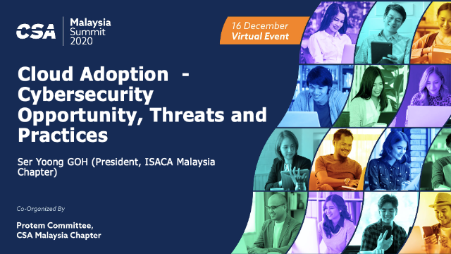 Cloud Adoption  - Cybersecurity Opportunity, Threats and Practices