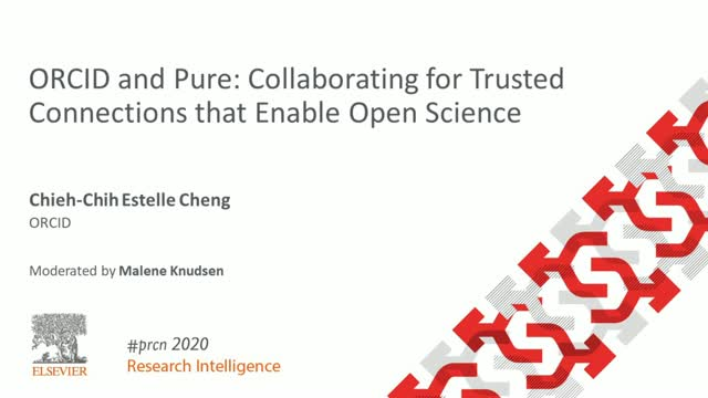 #PRCN2020: ORCID and Pure: Collaborating for Trusted Connections & Open Science