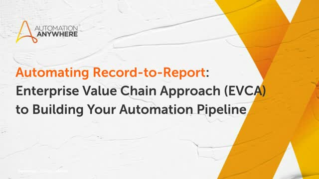 Automating Report-to-Report (R2R) process in F&A with Intelligent Automation
