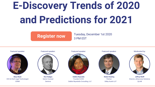 Out with the old and in with the New: eDiscovery Trends in 2020 and Predictions