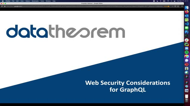 5 Web Security Considerations for GraphQL