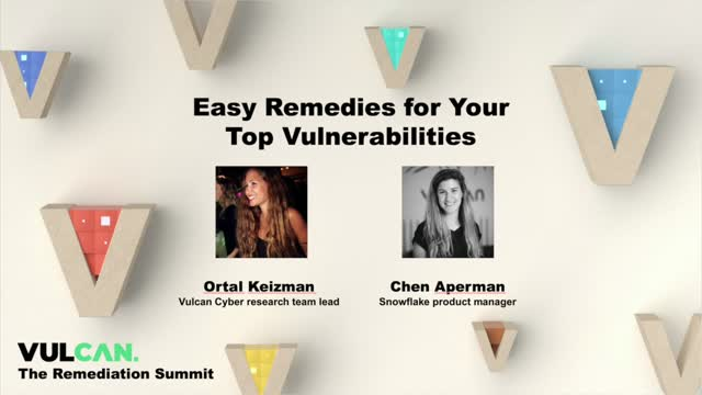 Easy Remedies for Your Top Vulnerabilities