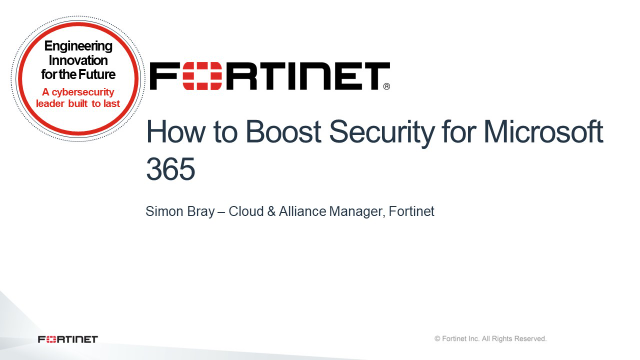 How to Boost Security for Microsoft 365