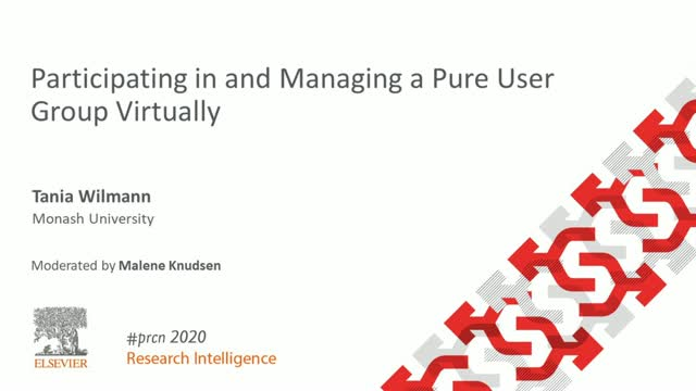#PRCN2020: Participating in and Managing a Pure User Group Virtually
