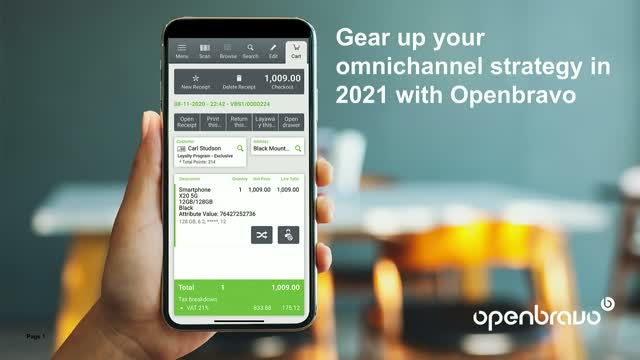 Gear up Your Omnichannel Strategy in 2021 With Openbravo