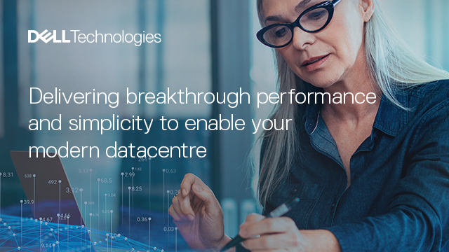 Delivering breakthrough performance & simplicity to enable the modern datacentre