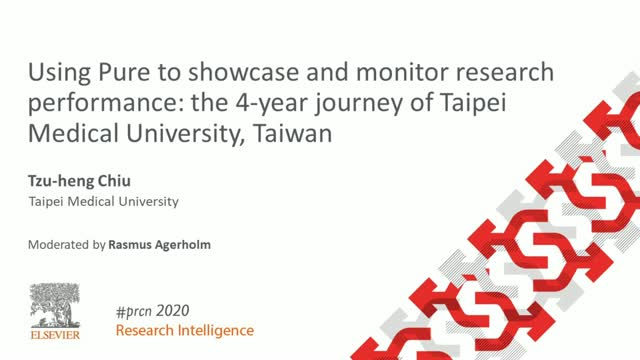#PRCN2020: Pure to showcase & monitor research performance (Taipei Medical Univ)