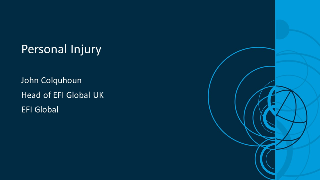 Personal Injury claims in the public sector