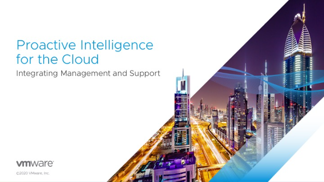 Proactive Intelligence for the Cloud: Integrating Management and Support