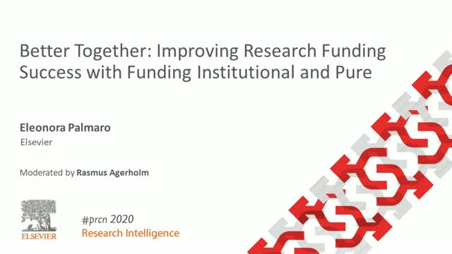 #PRCN2020: Improving Research Funding Success with Funding Institutional