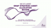 Strategic Asset Allocation changes for the GMAP range