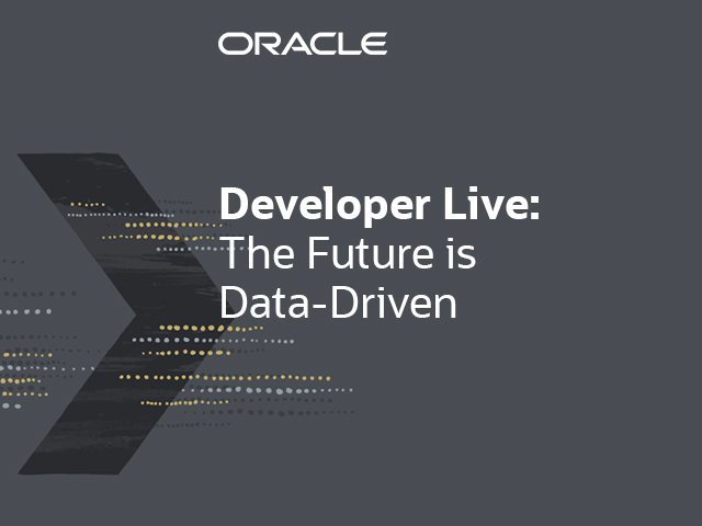 The Future is Data-Driven