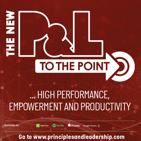 The New P&L TO THE POINT on High Performance, Empowerment & Productivity