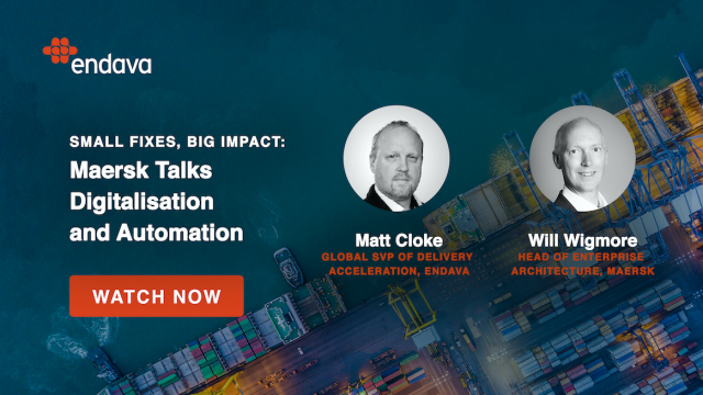 Small Fixes, Big Impact: Maersk Talks Digitalisation and Automation