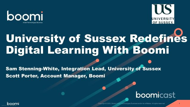 University of Sussex Redefines Digital Learning With Boomi