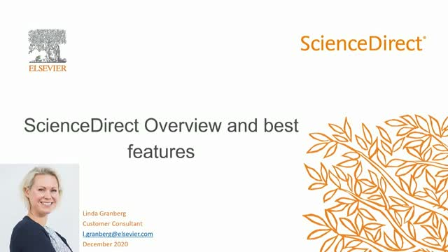 ScienceDirect Overview and best features