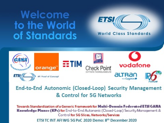 End-to-End Autonomic Closed-Loop Security Management & Control for 5G Networks