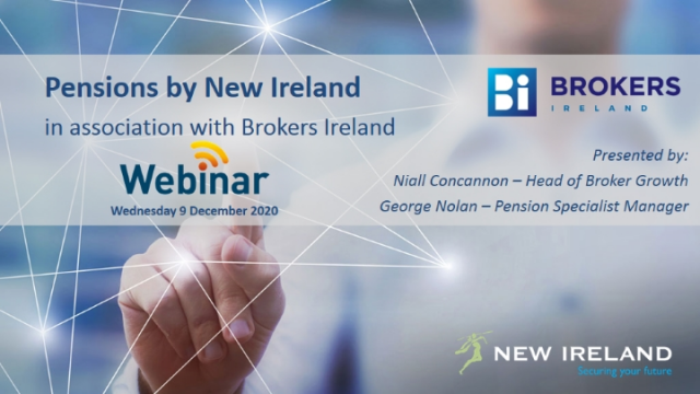 Pensions by New Ireland in association with Brokers Ireland