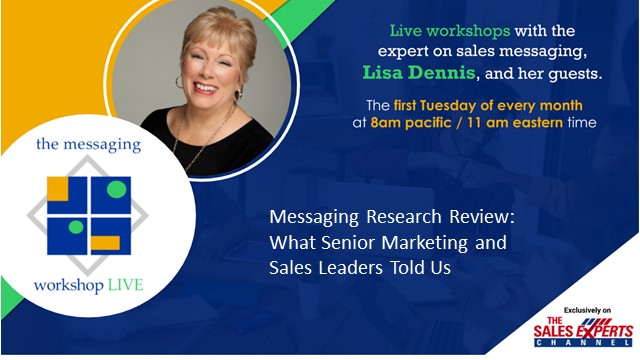 The Messaging Workshop - Live! - Ep 9 - Messaging Research Review