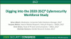 Digging Into the 2020 (ISC)2 Cybersecurity Workforce Study