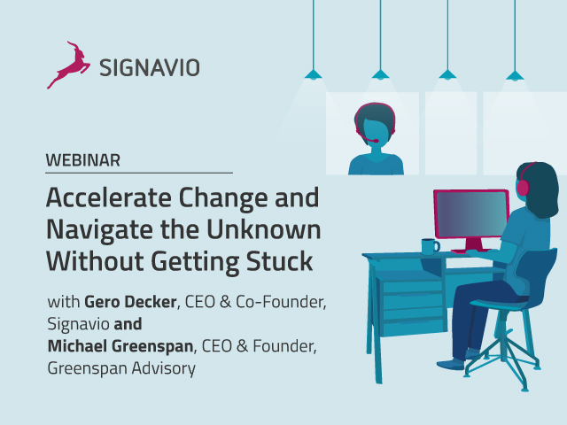 Accelerate Change and Navigate the Unknown Without Getting Stuck
