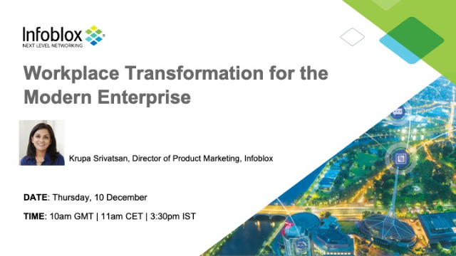 Workplace Transformation for the Modern Enterprise