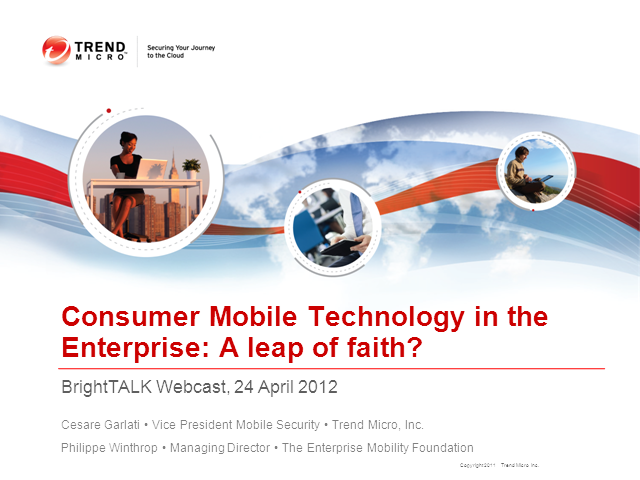 Consumer Mobile Technology in the Enterprise: A Leap of Faith?