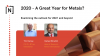 2020: A Great Year for Metals?