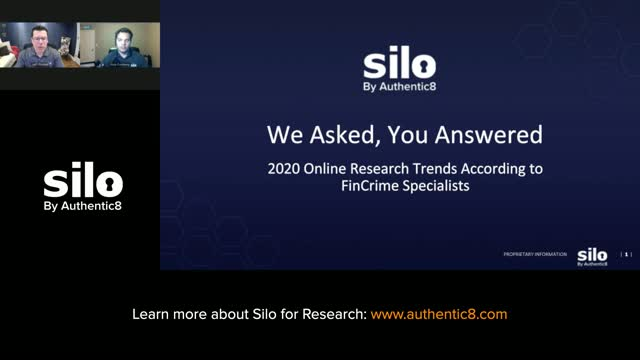 We Asked, Financial Fraud Analysts Answered: 2020 Online Research Trends