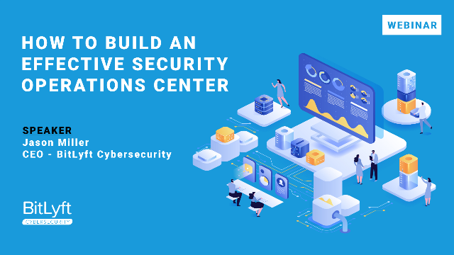 How to Build an Effective Security Operations Center