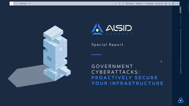 Government Cyberattacks: Proactively Secure Your Infrastructure