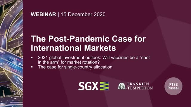 The Post-Pandemic Case for International Markets