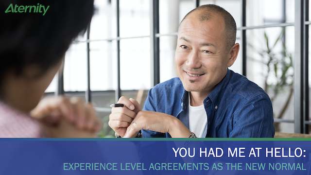Experience Level Agreements as the New Normal