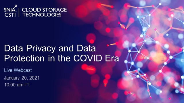 Data Privacy and Data Protection in the COVID Era
