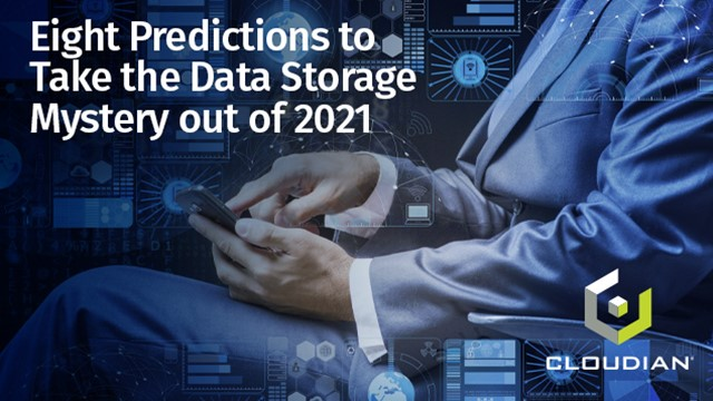 Eight Predictions to Take the Data Storage Mystery out of 2021