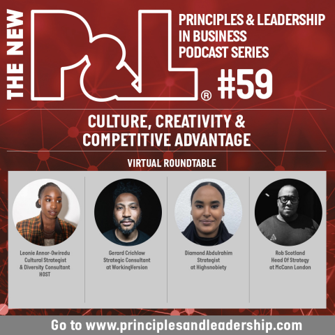 The New P&L Culture, Creativity and Competitive Advantage Roundtable