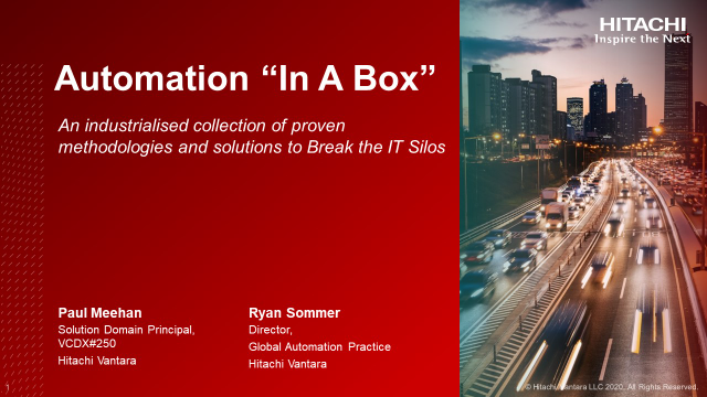 """Automation """"In A Box"""""""