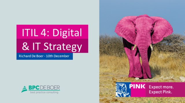 ITIL 4: Digital & IT Strategy, a closer look